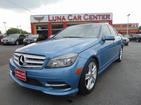 2011 Mercedes-Benz C-Class for sale at LUNA CAR CENTER in San Antonio TX