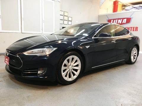 2013 Tesla Model S for sale at LUNA CAR CENTER in San Antonio TX