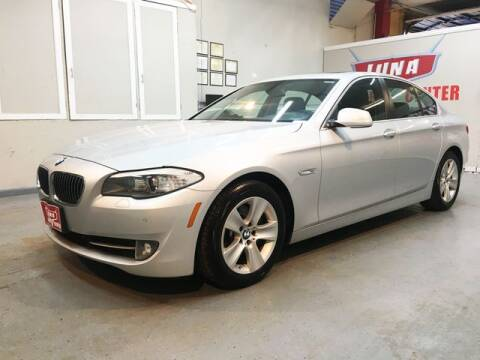 2013 BMW 5 Series for sale at LUNA CAR CENTER in San Antonio TX