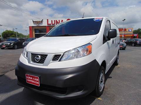 2015 Nissan NV200 for sale at LUNA CAR CENTER in San Antonio TX