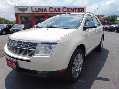 2008 Lincoln MKX for sale at LUNA CAR CENTER in San Antonio TX