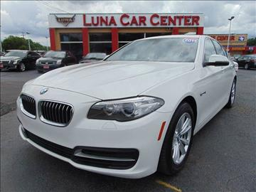 2014 BMW 5 Series for sale at LUNA CAR CENTER in San Antonio TX