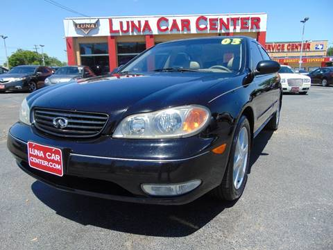 2003 Infiniti I35 for sale at LUNA CAR CENTER in San Antonio TX