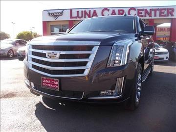 2015 Cadillac Escalade ESV for sale at LUNA CAR CENTER in San Antonio TX