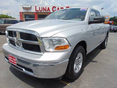 2012 RAM Ram Pickup 1500 for sale at LUNA CAR CENTER in San Antonio TX