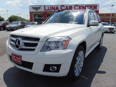 2012 Mercedes-Benz GLK for sale at LUNA CAR CENTER in San Antonio TX