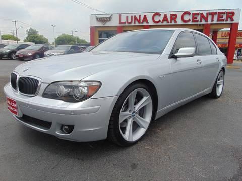 2008 BMW 7 Series for sale at LUNA CAR CENTER in San Antonio TX