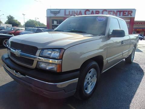 2005 Chevrolet Silverado 1500 for sale at LUNA CAR CENTER in San Antonio TX