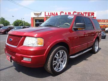 2004 Ford Expedition for sale at LUNA CAR CENTER in San Antonio TX
