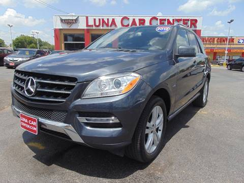 2012 Mercedes-Benz M-Class for sale at LUNA CAR CENTER in San Antonio TX