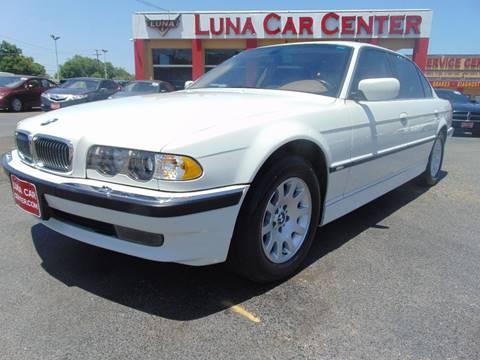 2001 BMW 7 Series for sale at LUNA CAR CENTER in San Antonio TX