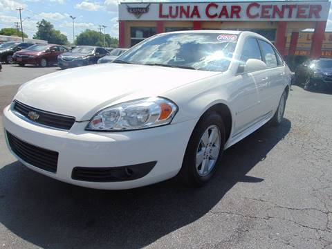 2009 Chevrolet Impala for sale at LUNA CAR CENTER in San Antonio TX