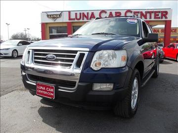 2008 Ford Explorer Sport Trac for sale at LUNA CAR CENTER in San Antonio TX