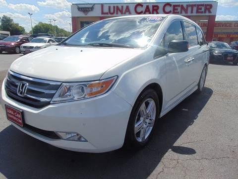 2012 Honda Odyssey for sale at LUNA CAR CENTER in San Antonio TX