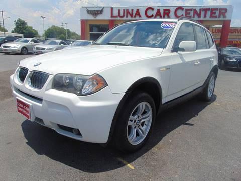 2006 BMW X3 for sale at LUNA CAR CENTER in San Antonio TX