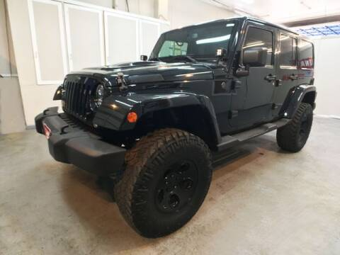 2014 Jeep Wrangler Unlimited for sale at LUNA CAR CENTER in San Antonio TX