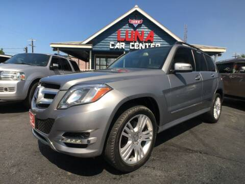 2015 Mercedes-Benz GLK for sale at LUNA CAR CENTER in San Antonio TX