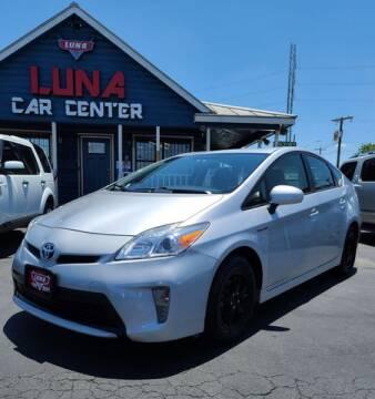 2012 Toyota Prius for sale at LUNA CAR CENTER in San Antonio TX
