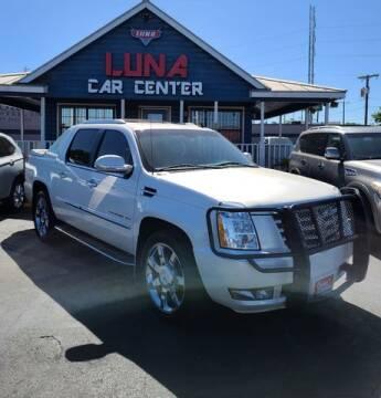 2012 Cadillac Escalade EXT for sale at LUNA CAR CENTER in San Antonio TX
