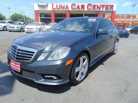 2010 Mercedes-Benz E-Class for sale at LUNA CAR CENTER in San Antonio TX