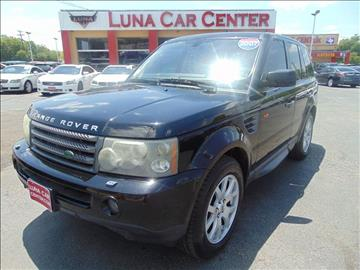 2007 Land Rover Range Rover Sport for sale at LUNA CAR CENTER in San Antonio TX