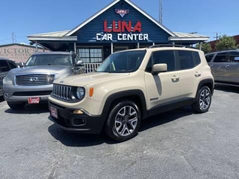 2015 Jeep Renegade for sale at LUNA CAR CENTER in San Antonio TX