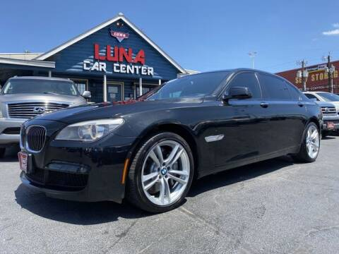 2012 BMW 7 Series for sale at LUNA CAR CENTER in San Antonio TX