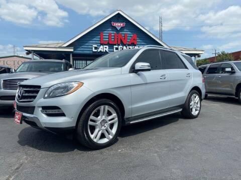 2015 Mercedes-Benz M-Class for sale at LUNA CAR CENTER in San Antonio TX