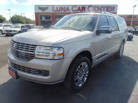 2007 Lincoln Navigator L for sale at LUNA CAR CENTER in San Antonio TX