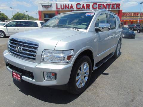 2008 Infiniti QX56 for sale at LUNA CAR CENTER in San Antonio TX