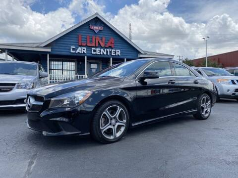 2015 Mercedes-Benz CLA for sale at LUNA CAR CENTER in San Antonio TX