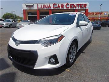 2014 Toyota Corolla for sale at LUNA CAR CENTER in San Antonio TX