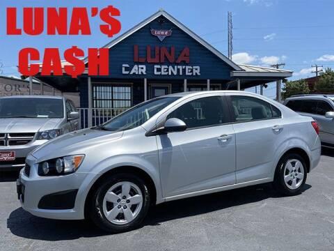 2014 Chevrolet Sonic for sale at LUNA CAR CENTER in San Antonio TX