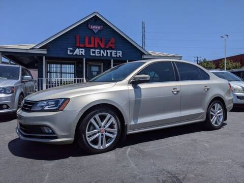 2015 Volkswagen Jetta for sale at LUNA CAR CENTER in San Antonio TX