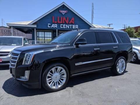 2015 Cadillac Escalade for sale at LUNA CAR CENTER in San Antonio TX