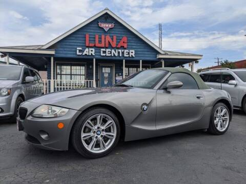 2005 BMW Z4 for sale at LUNA CAR CENTER in San Antonio TX