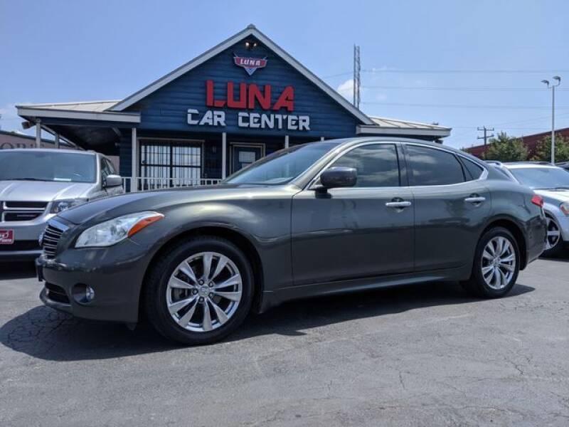 2012 Infiniti M37 for sale at LUNA CAR CENTER in San Antonio TX