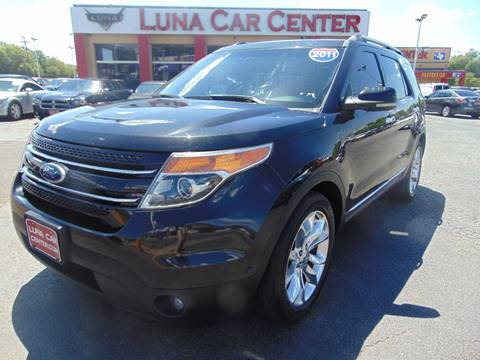 2011 Ford Explorer for sale at LUNA CAR CENTER in San Antonio TX