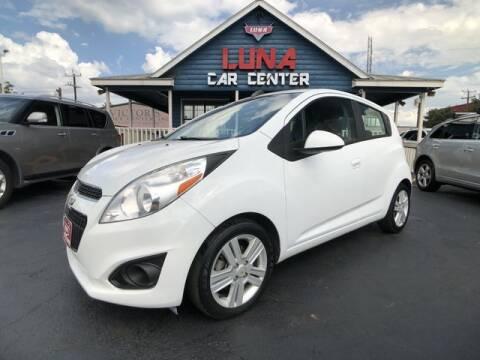 2015 Chevrolet Spark for sale at LUNA CAR CENTER in San Antonio TX