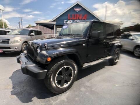 2011 Jeep Wrangler Unlimited for sale at LUNA CAR CENTER in San Antonio TX