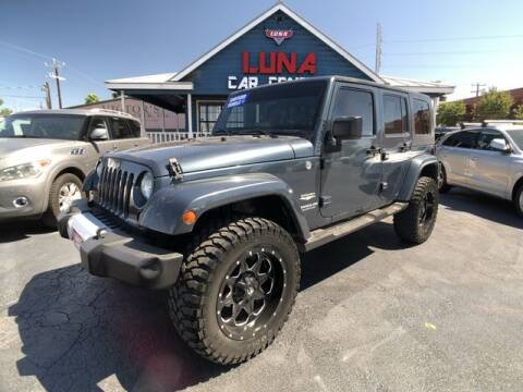 2008 Jeep Wrangler Unlimited for sale at LUNA CAR CENTER in San Antonio TX