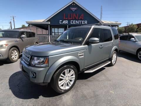 2015 Land Rover LR4 for sale at LUNA CAR CENTER in San Antonio TX
