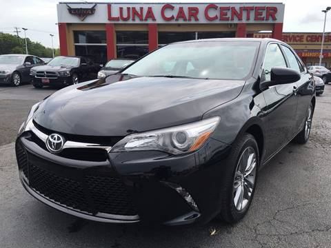 2016 Toyota Camry for sale at LUNA CAR CENTER in San Antonio TX