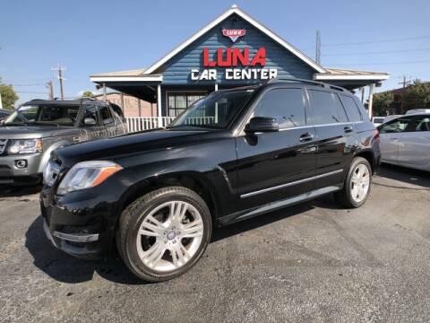 2014 Mercedes-Benz GLK for sale at LUNA CAR CENTER in San Antonio TX