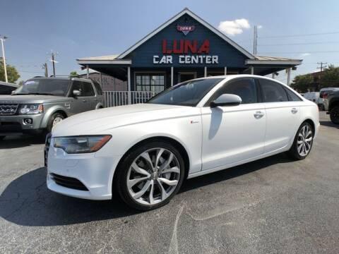 2013 Audi A6 for sale at LUNA CAR CENTER in San Antonio TX