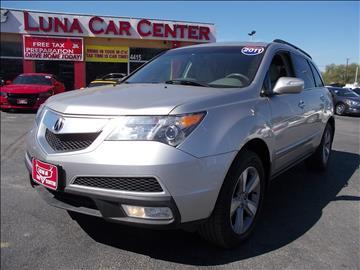 2011 Acura MDX for sale at LUNA CAR CENTER in San Antonio TX