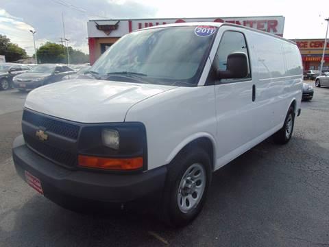 2011 Chevrolet Express Cargo for sale at LUNA CAR CENTER in San Antonio TX