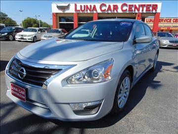 2015 Nissan Altima for sale at LUNA CAR CENTER in San Antonio TX