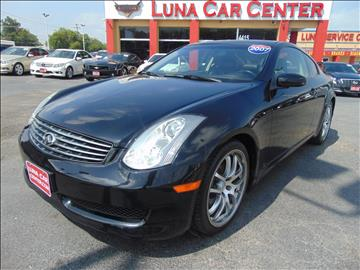 2007 Infiniti G35 for sale at LUNA CAR CENTER in San Antonio TX