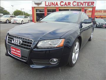 2010 Audi A5 for sale at LUNA CAR CENTER in San Antonio TX